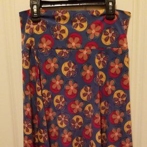 LulaRoe Small Floral Skirt
